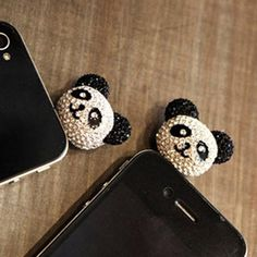 Free+shipping++Panda+full+drill+dust+plug+cartoon+characters+iphone+(universal+mobile+phone+available)+19g.jpg (800×800)