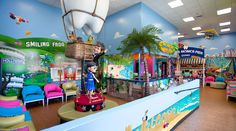 Waiting room theming by Imagination Dental Solutions
