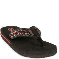 2e03e368ff2bc5 110153J-WSBOM Teva Youth Mush II Flip Flops - Wood Stripes Black Olive www