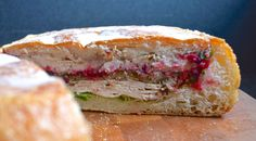 """#202---The """"Game Changer"""" Thanksgiving Leftovers Shooter Sandwich. You must do this with your leftovers!"""