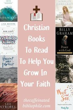 8 Christian Books To Read To Help You Grow In Your Faith - Inspiration - Livre Christian Women, Christian Living, Christian Faith, Christian For Teens, Good Books, Books To Read, Reading Books, Library Books, Reading Lists
