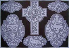 ru / Fotoğraf - Filet Dantel Desenler VII - natashakon the Gallery.r / Photo - Filet Lace Patterns VII - natashakon Filet Crochet Charts, Crochet Cross, Thread Crochet, Crochet Lace, Lace Patterns, Crochet Patterns, Faith Crafts, Fancy Bows, Catholic Crafts