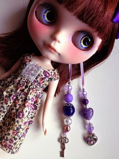 Reese's charms by china-lilly *no FMs*, via Flickr ~ love her eye chips!