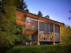 Olson Kundig Architects - Scavenger Studio (home, design, modern)