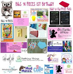 Enter to win: Bibs 'N Pieces 1st Birthday Giveaway - Baby