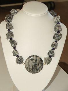 4x Glasperlen Silberfolie handmade Rund Schmuck Basteln Perlen DIY Farbwahl 10mm