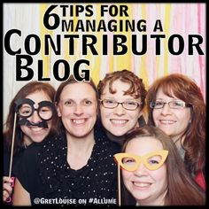 6 Tips for Managing a Contributor Blog, including a list of helpful WP plug ins.