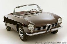 Alfa Romeo Giulia Spider Prototipo - 1963