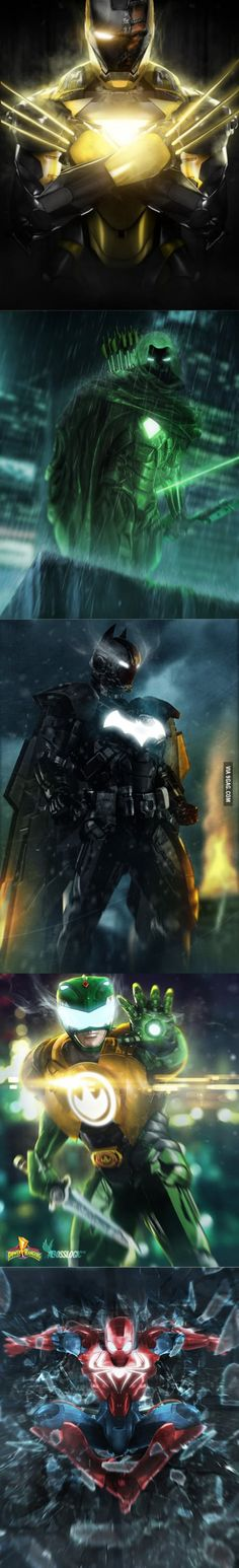 Superheroes Iron Suits - 9GAG
