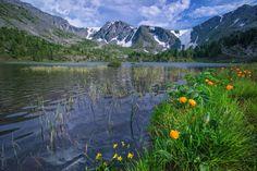 Каракольские озера. Алтай.