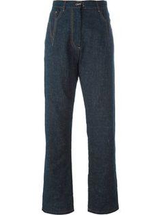 pantalon en jean ample