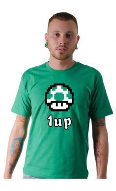 Camiseta 1 Up - Loja de Camisetas|Camisetas Era Digital
