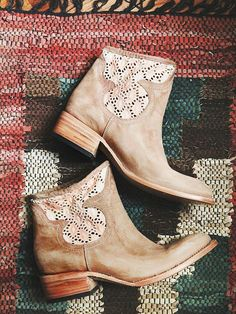 free people booties- perfect for country dancing and still has a hippie edge!