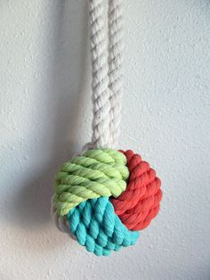 Knot really a necklace,  but why knot? !