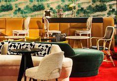 Ecletic Interior Design by Studio Janreji #frenchinteriordesign #architecturedinterieur Equip Hotel 2014