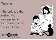 ;) It's a good thing I've never taught a Nicholas! #daycarefunny #daycaretruths