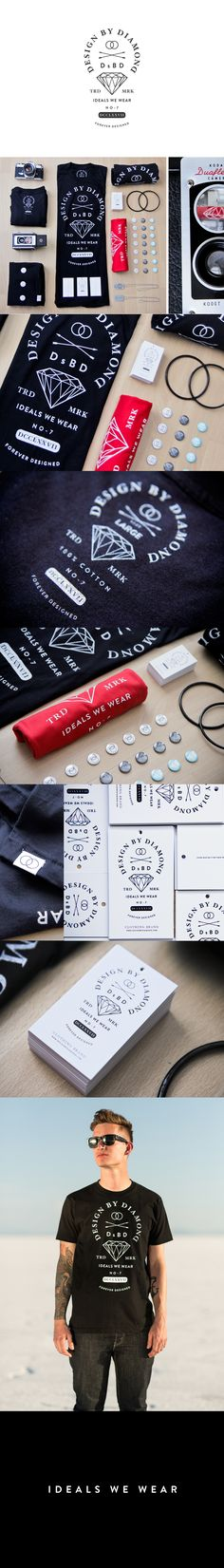 Design By Diamondst | #stationary #corporate #design #corporatedesign #identity #branding #marketing < repinned by www.BlickeDeeler.de | Take a look at www.LogoGestaltung-Hamburg.de