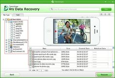 Tenorhare Free Any #Data #Recovery - recover deleted, formatted, or lost documents, photos, videos, music and etc. from hard drive, USB flash drive, memory card, mobile phone, camera, external hard drive and so on