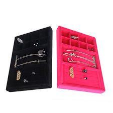 Jewelry Box Necklace Bracelet Storage Armoire Watch Organizer Ring