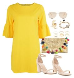 """""""Untitled #3463"""" by theaverageauburn on Polyvore featuring Yves Saint Laurent, Ted Baker, Kate Spade and Call it SPRING"""