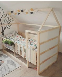19 Ikea Kura Bed Hacks your Kids will Love - james and catrin Ikea have created a wonderful toddlers bed that is perfect for customising in whatever way you like. You can hack the Ikea KURA bed to .