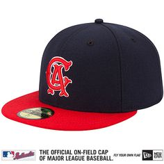 b5048c17455 Los Angeles Angels of Anaheim Authentic Collection 1969 Turn Back The Clock  On-Field 59FIFTY