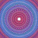 Keep a Loving Heart Mandala by Elspeth McLean