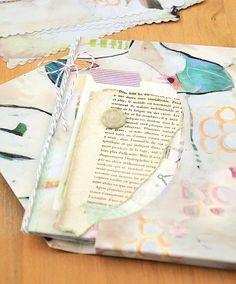 easy envelope journal