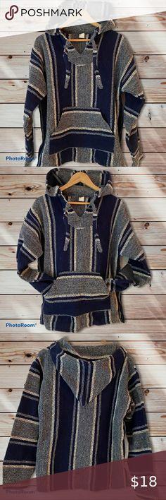 Baja Woven Blanket Beach Hoodie - Unisex Neutral blues and greys go with everyth...#baja #beach #blanket #blues #everyth #greys #hoodie #neutral #unisex #woven Summer Bonfire, Bonfire Pits, Beach Walk, Beach Blanket, Blue Grey, Looks Great, Blues, Neutral, Bonfires