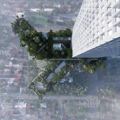 MVRDV-Jerde-Arup reveal 360.000m2 green mix use project in Jakarta, Indonesia by MVRDV as Architects