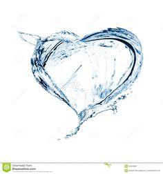 heart-water-splash-24003883.jpg (1300×1390)