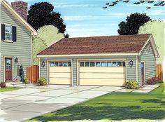 Garage Plan 30003 at FamilyHomePlans.com