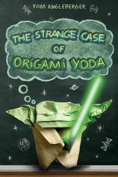 Sixth-grader Tommy and his friends describe their interactions with a paper finger puppet of Yoda, worn by their weird classmate Dwight, as they try to figure out whether or not the puppet can really predict the future. Includes instructions for making Origami Yoda.
