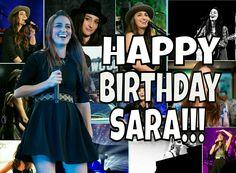 Happy Birthday Sara!!! Sara Bareilles, Chat Board, Just The Way, Current Events, Love Her, Happy Birthday, Singer, Happy Brithday, Urari La Multi Ani