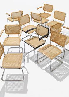 En 1928, Marcel Breuer (qui est accessoirement l'un des maîtres du Bauhaus) révolutionne le design avec la chaise Cesca. Elle est faite d'un dossier et d'un siège en bois et cannage... Continuer la lecture →