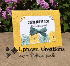 Uptown Creations- Stampin' Up! I Card, Your Favorite, Microsoft, Florals, Stampin Up, Calendar, Card Making, Scrapbook, Creative
