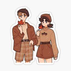 ✔ Couple Illustration Cute We Heart It Arte Do Kawaii, Kawaii Art, Cute Art Styles, Cartoon Art Styles, Kawaii Drawings, Cute Drawings, Cartoon Drawings, Arte Monster High, Arte Copic