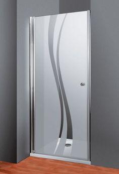 Schulte Duschkabine Alexa Style 2.0 Drehtür für Nische Dekor Liane
