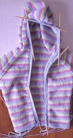 Vauvan huppari | Punomo Knitting For Kids, Baby, Fashion, Projects, Moda, La Mode, Newborn Babies, Fasion, Infant