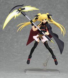 Buy Action Figure - Magical girl Lyrical Striker S Nanoha Action Figure - Figma Fate Testarosa Movie 1st - Archonia.com