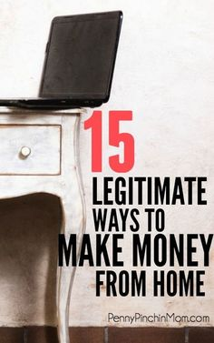 This is the BEST list of ways to make money from home. None of those lame ideas - these are REAL ideas (that work)! Make Money From Home, Way To Make Money, Make Money Online, How To Make, Home Based Business, Online Business, Business Ideas, Business Help, Financial Tips