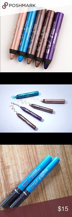 Urban Decay Shadow pencil New with no box never used Price is for both. Color is Clash urban decay Makeup Eyeshadow