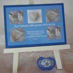Karte Geburt Taufe  von PHOTOGLÜCK auf DaWanda.com