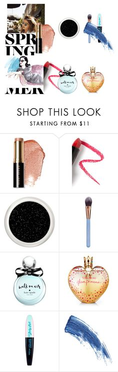 """""""Untitled #42"""" by anssy ❤ liked on Polyvore featuring Bobbi Brown Cosmetics, Lapcos, Luxie, Kate Spade, Vera Wang, L'Oréal Paris and Eyeko"""