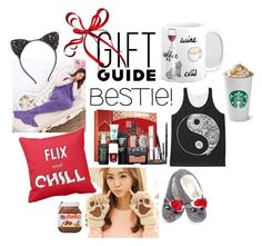 """Gift Guide: Bestie"" by julieerindesigns ❤ liked on Polyvore featuring Cara, Sephora Collection and Quarto Publishing"