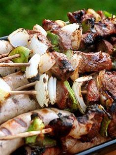 Turkish turkey kebabs