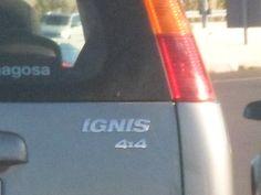 Automóvil marca Suzuki, modelo IGNIS.