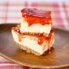 the chew   Recipe   Michael Symon's Cheesecake With Pretzel Crust