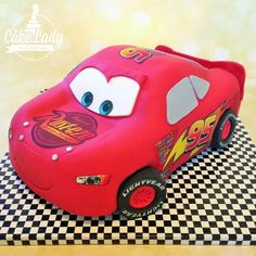 Lightning McQueen Disney Cars - Cake by The Cake Lady