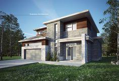 #Architecture#maison #contemporaine #création exclusive E-977 #moderne #design#concept